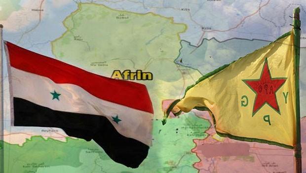 Suriye Hükümetinden YPG'ye Afrin şartı!