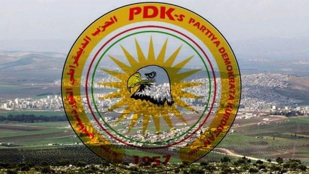 KDP-S'den uluslararası topluma 'Afrin' mektubu
