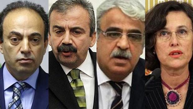 HDP'de 'düşürme' önlemi: TBMM Başkanvekilliği için 4 isim
