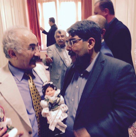 Salih Müslim ile Yekta Uzunoğlu AP