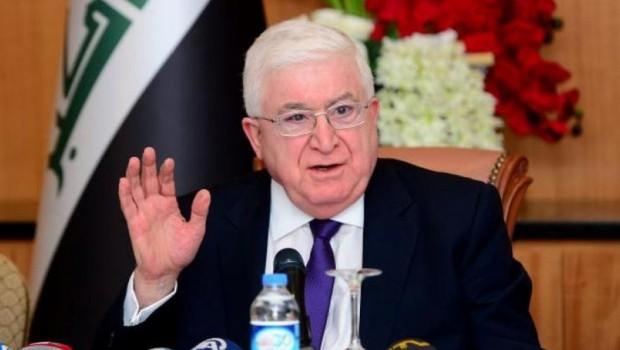 Fuad Masum'dan Erbil ve Bağdat'a toplantı çağrısı