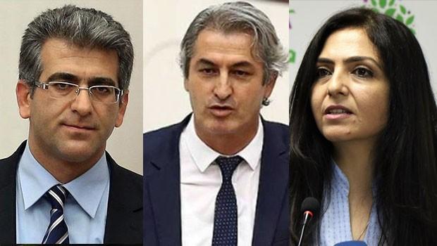 HDP'li 3 vekil hakkında 'Efrin paylaşımları' gerekçesiyle fezleke