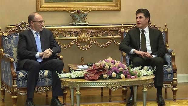 Başbakan Barzani, ABD Büyükelçisi ile son gelişmeleri görüştü