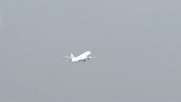 Süleymaniye'den ilk uçak kalktı!