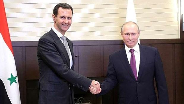 Putin'den Esad'a gizli 'Efrin' mektubu