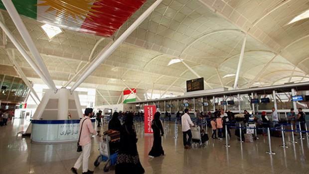 Kürdistan'a uçuş yasağı kalktı