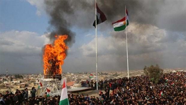 Kerkük'te Kürt partilerden Newroz kararı: Kürdistan Bayrağı dalgalanacak!