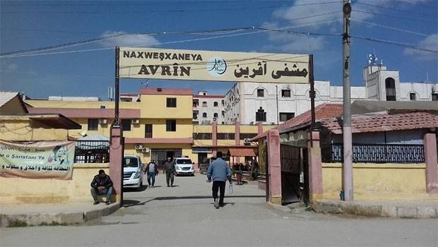 Efrin'de hastane boşaltıldı!