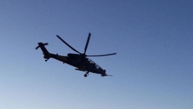 Irak'ta ABD'ye ait helikopter düştü