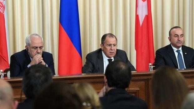 Üç ülkeden ortak Suriye bildirisi