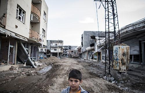 59 günlük Operasyon sonrası Cizre'den Yıkım görüntüleri