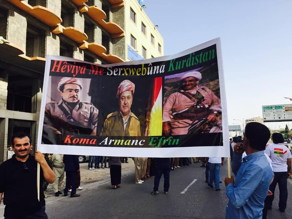 Bağımsızlık ve Referandum Karnavalı'ndan renki görüntüler