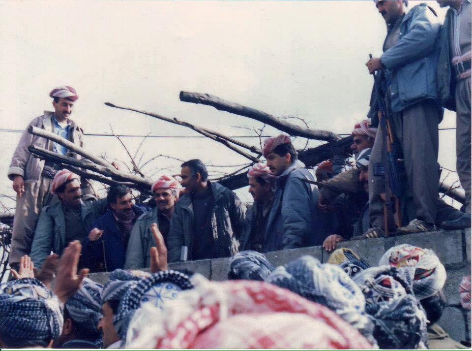 Başkan Barzani'nin Raperîn dönemine ait fotoğrafları yayınlandı