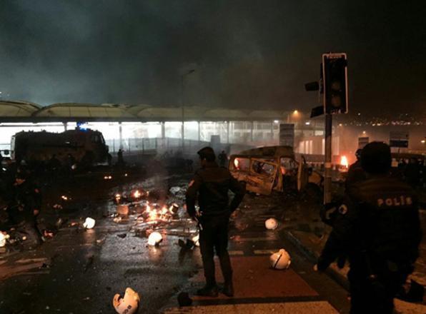 Fotoğraflarla İstanbul'daki yaşanan patlama