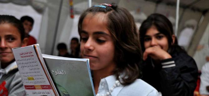 Güney Kürdistan'da Rojavalı çocukların eğitimi