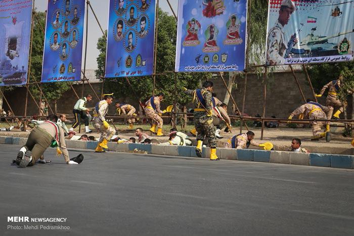 İran'da bilanço çok ağır... İşte saldırının fotoğrafları!