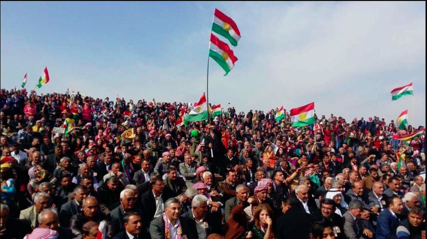 Mela Mistefa Barzani, Rojava'da anıldı