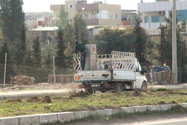 Operasyon sinyali verilen Nusaybin'den göç başladı