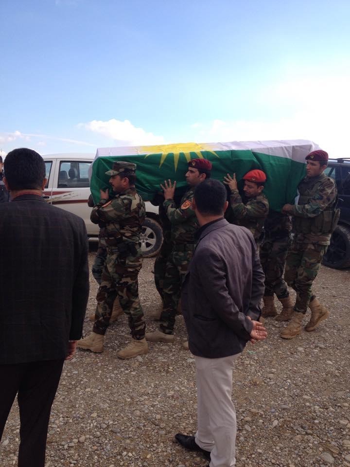 Şehit düşen Peşmergelerden üçü Kuzey Kürdistanlı