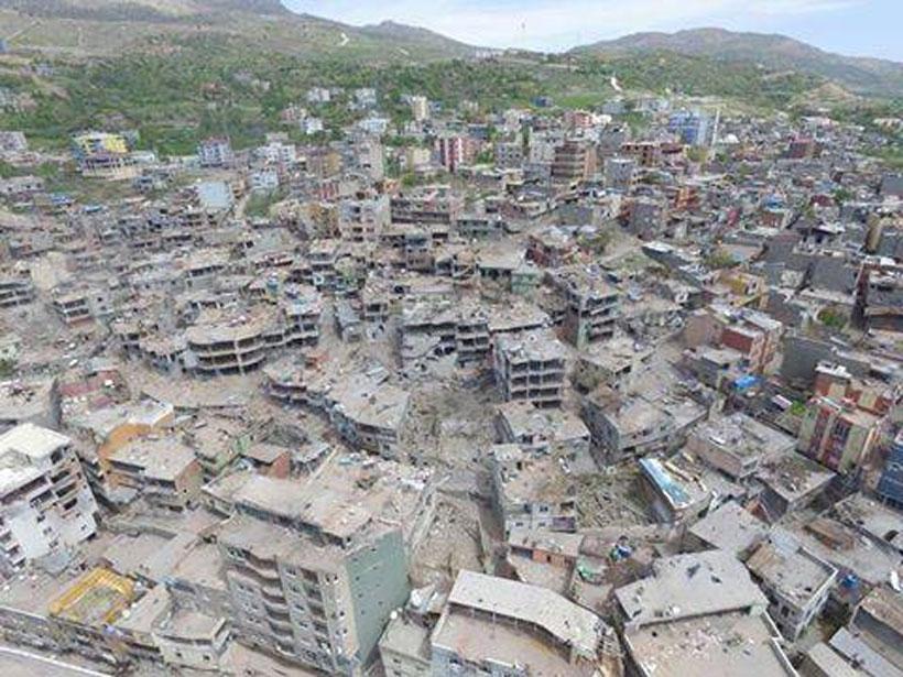 Şırnak'ta yıkımın kahreden fotoğrafları