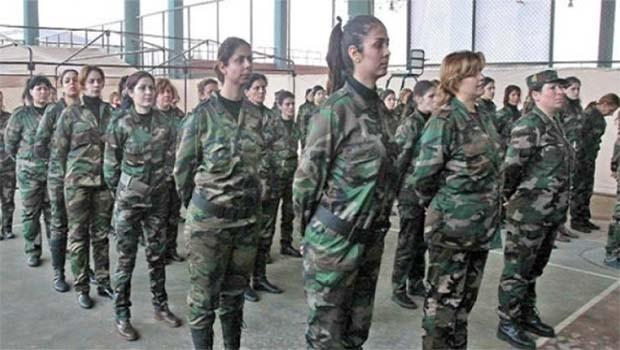 Artêşa Sûriyê li Rojava hêza jinan ava dike