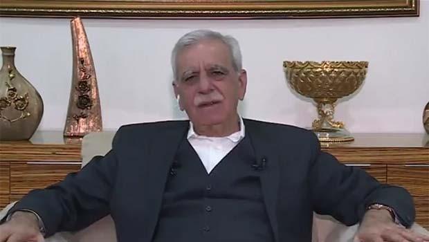 Ahmet Turk: Amade me ji bo aştî û diyalogê xebatê bikim