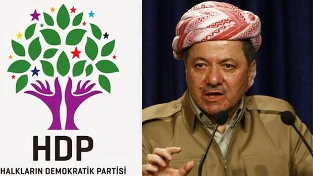 HDP: Em bi helwesta Barzanî li ser Demîrtaş kêfxweş bûn