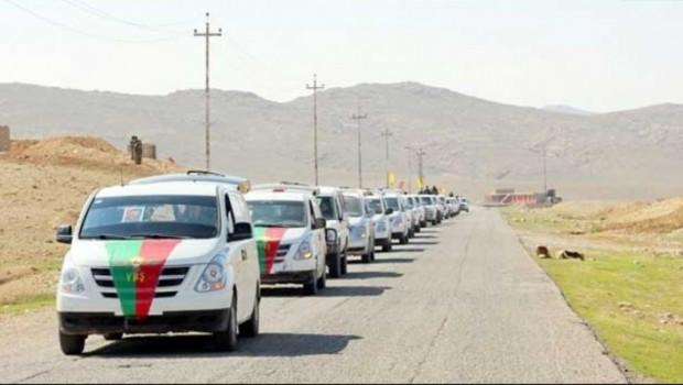 PKKê komek ereb ji Sûriyê derbasî devera Şingalê kir!