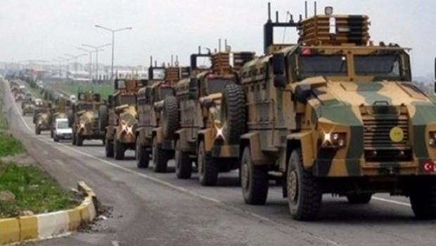 Li ser sînorê Efrîn'ê sewqiyata leşkerî