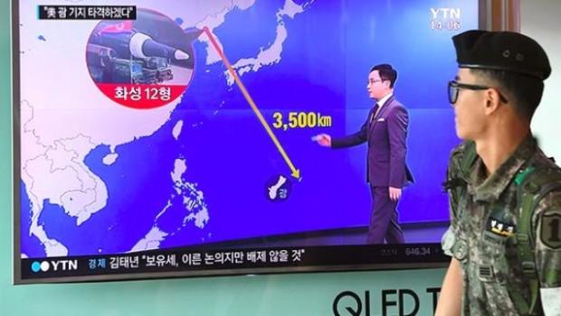 Kore'ya Bakûr, roja lêxistina xaka DYA'yê destnîşan kir