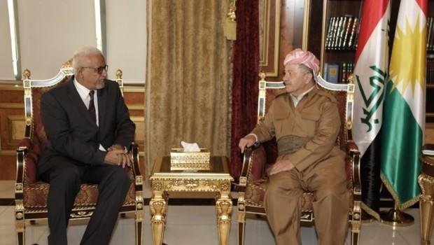Serokê Herêma Kurdistanê balyozê Sudanê yê Iraqê pêşwazî kir