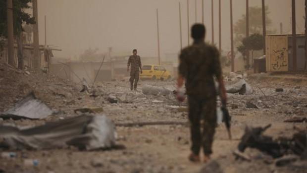 Amerîka, Kurdên ku Reqqayê de jiyana xwe ji dest dane daxûyand