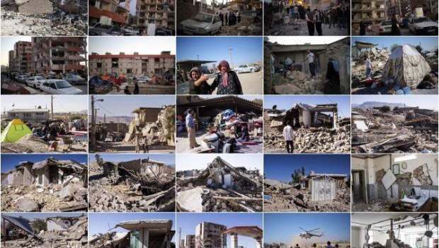 Li, Rojhilatê Kurdistan kampanya erdhejê: 'Çavê welêt li me ye'