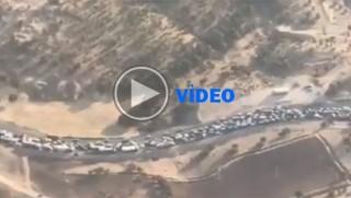 Li Rojhilatê konvoyeke bi hezaran wesayît çû alîkariya Kirmaşanê
