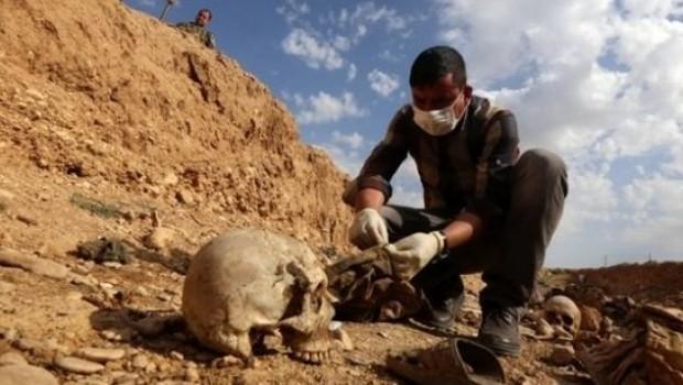 Li nêzikê Mûsilê goreke komî ya Kurdên Êzidî derket holê