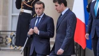 Macron û Nêçîrvan Barzanî qala hilweşandia Referandûmê nekirin!
