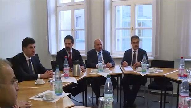 Serokwezîrê Barzanî li gel partiya CDU ya desthilatdar ya Almaniya civiya