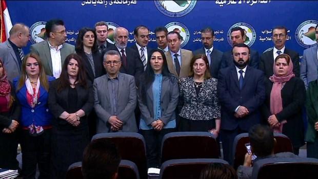 Fraksiyonên Kurdistanî êrîşa li ser Efrînê şermezar dikin
