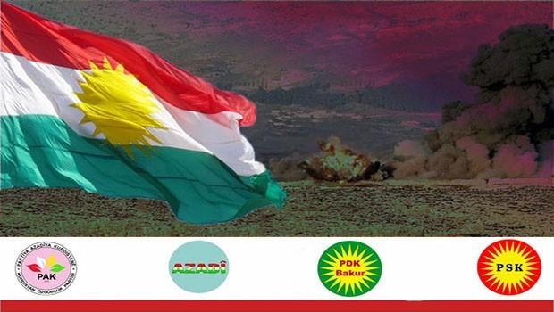 Partiyên Kurdistanî Operasyona Efrînê protesto kirin