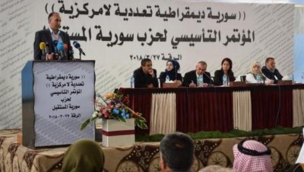 Li bakurê Sûriyê partiyeke nû hate damezrandin