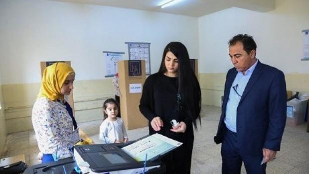 Di hilbijartinên Iraqê de Hevpeymana Ebadî di pêş de ye