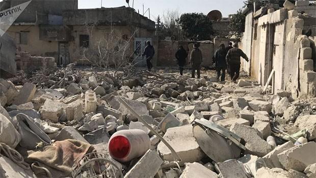 Li Efrînê mayîn teqiya: 5 efrînî birîndar bûn