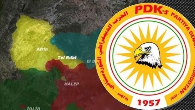 PDK-S hawara xelkê Efrînê digihîne civaka navdewletî