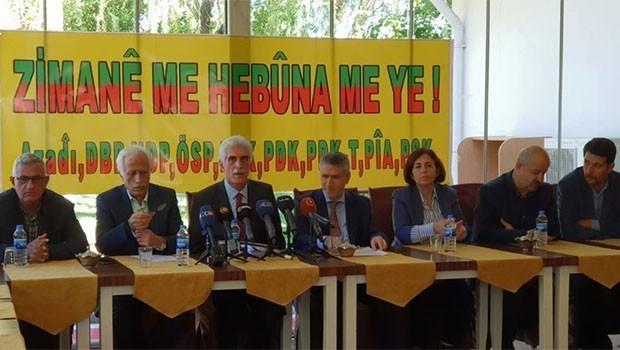 Neh partiyên Kurdî: Ji bo zimanê xwe em bi hevre ne