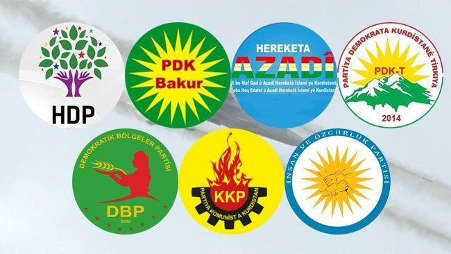 7 partiyên bakurê Kurdistanê daxuyaniyek hevpar dan!