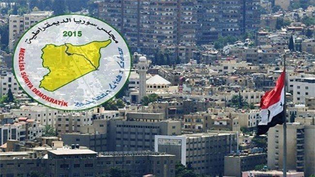 MSD: Ji bo ku hikûmeta Sûriyê derbasî Rojava bibe mercên me hene