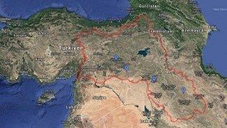 Google li ser daxwaza Tirkiyê nexşeya Kurdistanê rakir