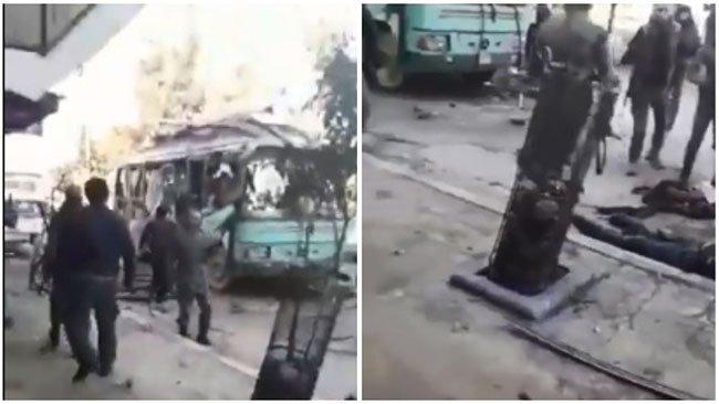 Li Efrînê 2 teqîn çê bûn û kuştî û birîndar hene