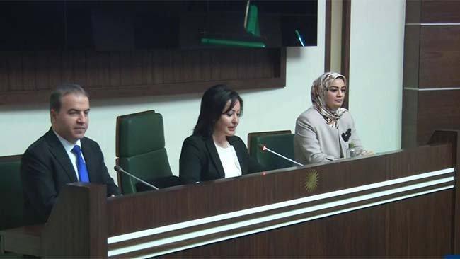Desteya Serokatiya Parlemantoya Kurdistanê hat hilbijartin