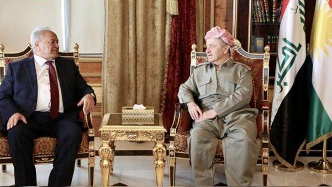 Serok Barzanî: Kurdên Sovyet a berê beşek giranbiha yên xelkê Kurdistanê ne